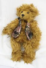 "Vtg Ganz Cottage Collectibles Reggie Teddy Bear Plush Stuffed Animal 1996 11.5"""