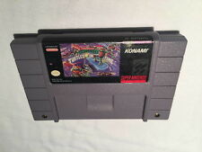 Teenage Mutant Ninja Turtles IV: Turtles in Time (Super Nintendo SNES) Game VG!