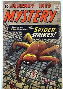 Journey Into Mystery # 73/ 1961/ Grade VG/ 4.0 $78.00/ many photos of book