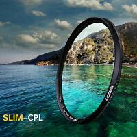 72mm Ultra Slim CPL Circular Polarizing Polarizer filter for Canon Nikon