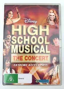 ➔ DVD: High School Musical The Concert (2007) Region 4 *AU stock* •Free Post•