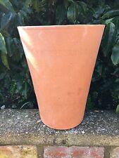 Terracotta Long Tom Plant Pot / Yorkshire Flower Pot  33 cm High (310)