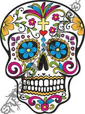 Cráneo genial Vinilo De Pared, Coche, Furgoneta Portátil Alta Calidad Nueva Decal Sticker