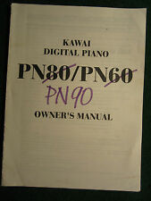 Kawai Electronic Digital Piano PN90 Service Repair Shop Manual PN 90 Keyboard