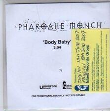 (BB186) Pharoahe Monch, Body Bady - DJ CD