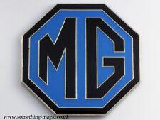 NEW Enamel Chrome Blue MG BADGE 69mm MGF MGTF TF