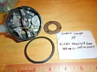 ZEBCO VINTAGE OMEGA 33 FISHING REEL HOUSING& GEARS&FREE SHIPPING