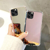 Mirror Case For iPhone 12 11 Pro Max XR XS 8 7 Tough Shockproof Hard Phone Cover