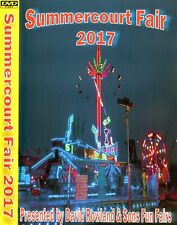 NEW FAIRGROUND SUMMERCOURT 2017 TRANSPORT DVD SHOWMANS FUNFAIR RIDES