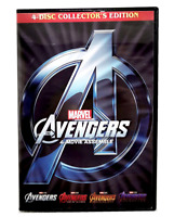 Avengers 1-4 (DVD Box Set) Collection Endgame Included Brand New Fast Shipping