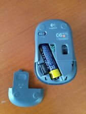 Logitech wireless mouse M235 blau + USB