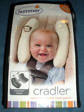 New! Summer Infant Toddler Head Support Cradler w/ Monkey - Ivory