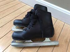 New listing Ccm Double Runner Ice Skates Kids Size 11 Black