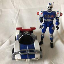 Vintage Bandai Power Rangers 1996 Robo Racer Police Car Transformers Turbo
