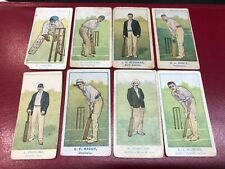 More details for wills capstan australian club cricketers issued 1905 x 8