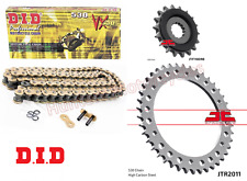 Triumph 955 Sprint ST (99 to 04) DID Gold X-Ring Chain & JT Quiet Sprocket Kit