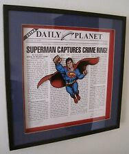 """Superman """"Daily Planet"""" Limited Warner Bros. Studio Store Gallery Exclusive #305"""