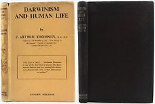 CHARLES DARWIN-1946-DARWINISM & HUMAN LIFE*EVOLUTION*SOUTH AFRICA*w/DUSTJACKET