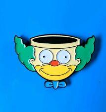 Krusty the Clown Car Simpsons Super Mario crossover Enamel Pin