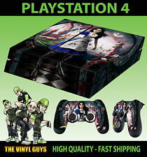 PS4 peau alice madness returns sabre lame autocollant + contrôleur decals lay plat