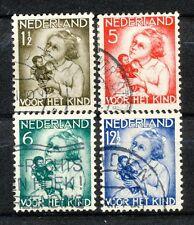 Nederland NVPH 270 - 273 gebruikt