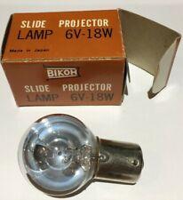 Bikoh Slide Projector Lamp 6V 18W  Styrofomer, Heustis-SF-2
