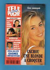 ►TELE POCHE 1486/1994 - CACHOU - BRUCE LEE - CURD JURGENS - ADJANI - BALAVOINE