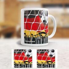 """Tasse """"WM"""" - Flagge Deutschland - Fußball - Becher - Kaffeetasse - Germany"""