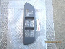 01-05 TOYOTA RAV4 DRIVER SIDE MASTER POWER WINDOW SWITCH BEZEL TRIM GRAY OEM NEW
