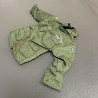 "1/6 21st Century WWII Plain Green Uniform For 12"" Ultimate Soldier GI Joe Figure"