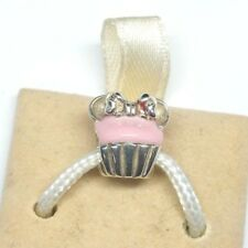 NEW AUTHENTIC CHAMILIA MINNIE CUPCAKE STERLING SILVER .925 BEAD CHARM #2020-0677