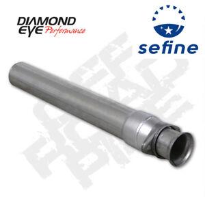 """Diamond Eye Off Road Starter Pipe For 1994-1997 FORD 3.5"""" 7.3L ALUM 124005"""