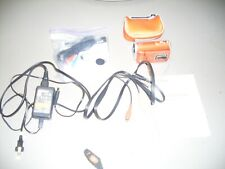 Sony Mhs-Cm1 Hd Webbie Camcorder Orange W/ Adapter Cables Excellent!
