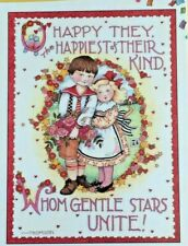 Mary Engelbreit Handmade Magnets-O Happy. the Happiest of Their Kind