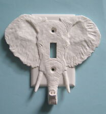 ELEPHANT light switch plate cover switchplate key jewelry holder outlet decor