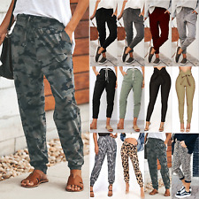 Womens Joggers Trousers Ladies Tracksuit Bottoms Jogging Gym Pants Lounge Wear 6