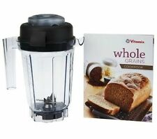 new vitamix 32 oz dry blade blending container with dry blade lid recipe book - Vitamix Blenders