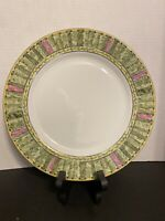 Horchow Damask Garden Made in Japan Dinner Plate Porcelain 12 Available