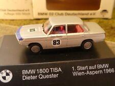 1/87 Brekina BMW 1800 TISA Quester Vienne-Aspern 1966 #83 Prix Spécial 9,99 €