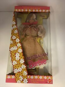 """Australian Barbie """"Dolls of the World""""  Collection Special Edition Mattel 1992"""