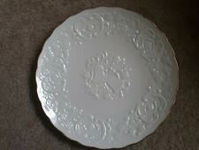 """Lenox Marriage Plate Anniversary Plate & Box Ivory Color 12"""" Serving Plate(Ci)"""