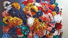 Wholesale lot 120 pcs Flower Jaw Hair Clip Claw Double Sided mixed color .