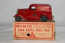 1950's Triang Minic Ford Royal Mail Van Truck with Partial Original Box