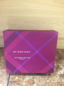 BURBERRY TENDER TOUCH Eau de Parfum EDP Women Spray 1.7 fl.oz Set