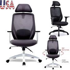 Ergonomic Office Mesh Swivel Chair Computer desk seat 135° backward Recliner