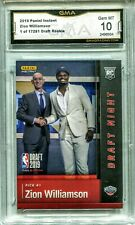 $320.00 ZION WILLIAMSON ROOKIE 2019 2019-2020 PANINI #DN-ZW FIRST OFFICIAL RC #6