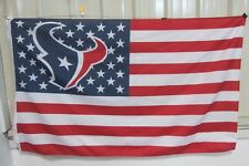 Houston Texans 3x5 Ft American Flag Football  New In Packaging