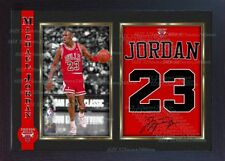 Michael Jordan signed autograph Basketball Memorabilia Nba photo print Framed