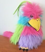 The Puppet Company Large Bird Pink Hand Puppet Tropical Bird Squeaker Toy