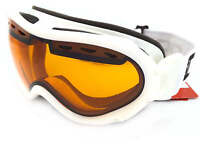 BLOC over the glasses SPIRIT 3 OTG ski snow Goggles White/ Orange STW11N